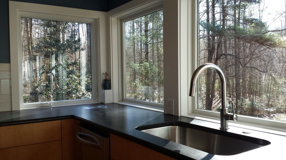 Kitchen A Mid Century Modern Renovation In Davidson Nc Come Home Contemporary Faucets Ultra Faucet Designs I