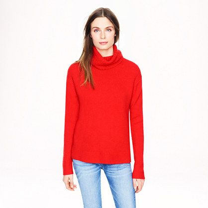 J.Crew - Wool-cashmere turtleneck sweater | Dream Closet ...