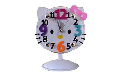 Hello Kitty Style Clock Hello Kitty Design 3D Adorably Cute Design Clock  HKC1 * Want To · Kids Rooms ... Idea