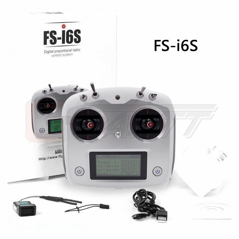 Flysky FS-i6S 2 4G 10CH AFHDS 2A RC Transmitter With FS-iA6B