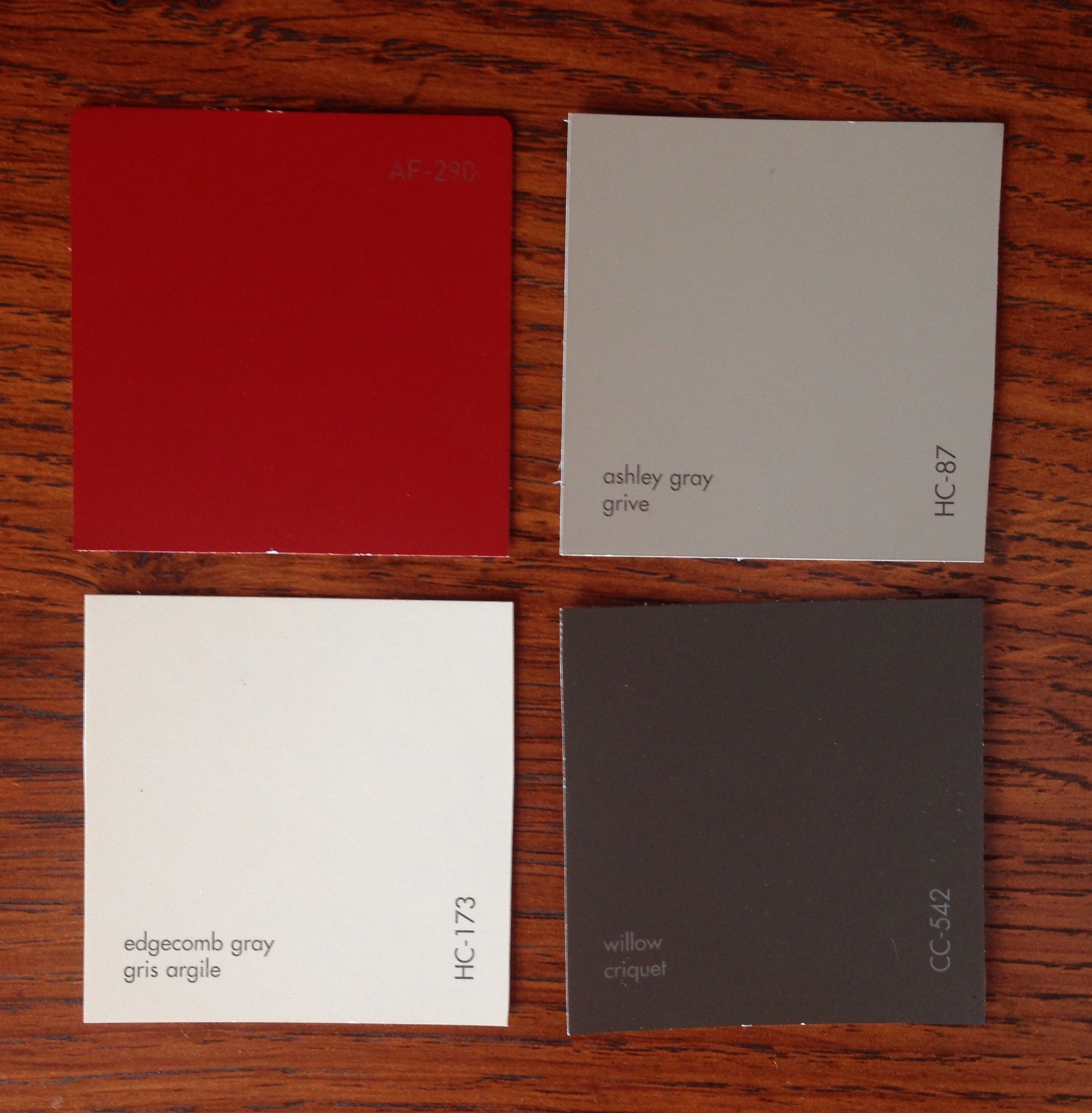 Benjamin moore front door paint colors - Romantic Winter Colour Scheme Af 290 Caliente Hc 87 Ashley Gray