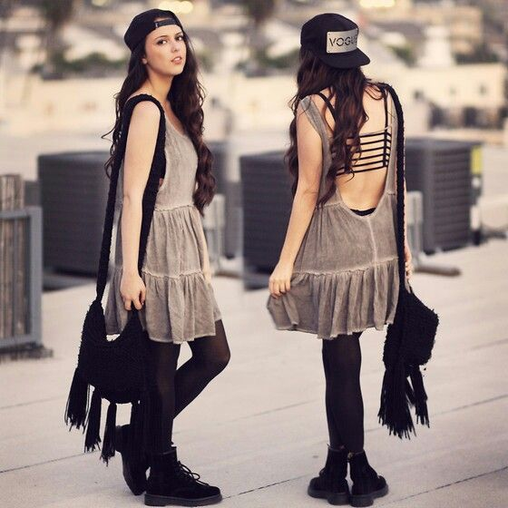 Brandy melville ingrid dress black