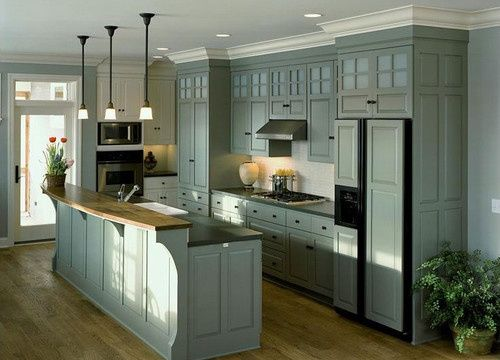 Kitchen Cabinets To Ceiling cabinets with crown molding and complete to ceiling - google