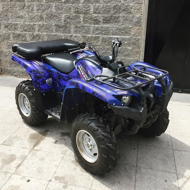 YAMAHA GRIZZLY YFM ATV Graphics Decalsexcellent Quality - Motorcycle decal graphics