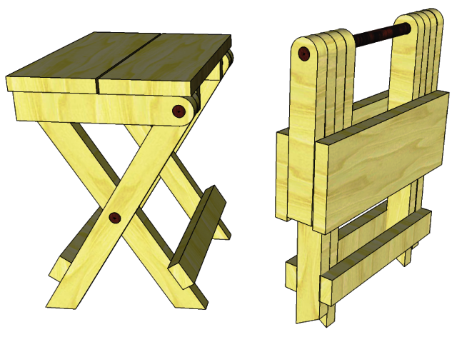 Folding Step Stool Plans Woodworking In Case You Are