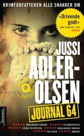 Journal 64 Jussi Adler Olsen Erik Johannes Krogstad Boker Litteratur Forfatter