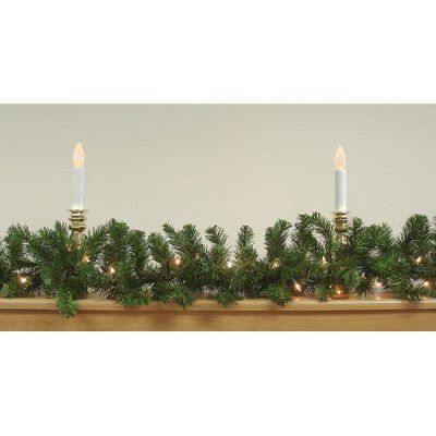 Darice 50 ft Pre Lit Commercial Pine Garland in 2018 Products