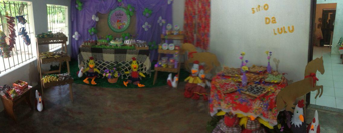 Festa no sítio Lulu