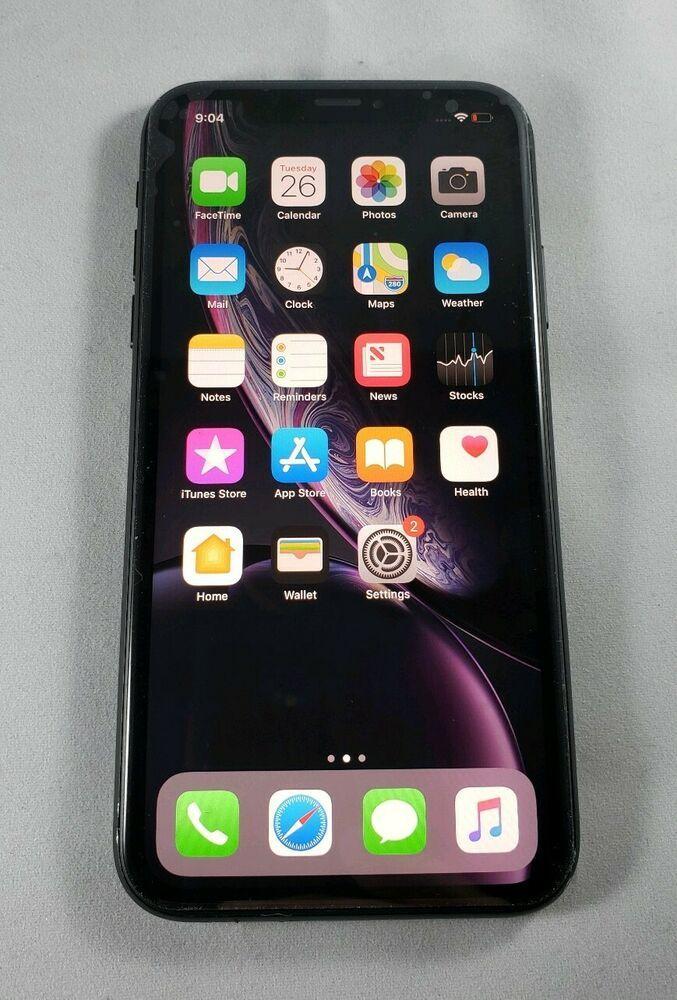 Apple iPhone XR 64GB Black (Sprint) A1984 (CDMA + GSM