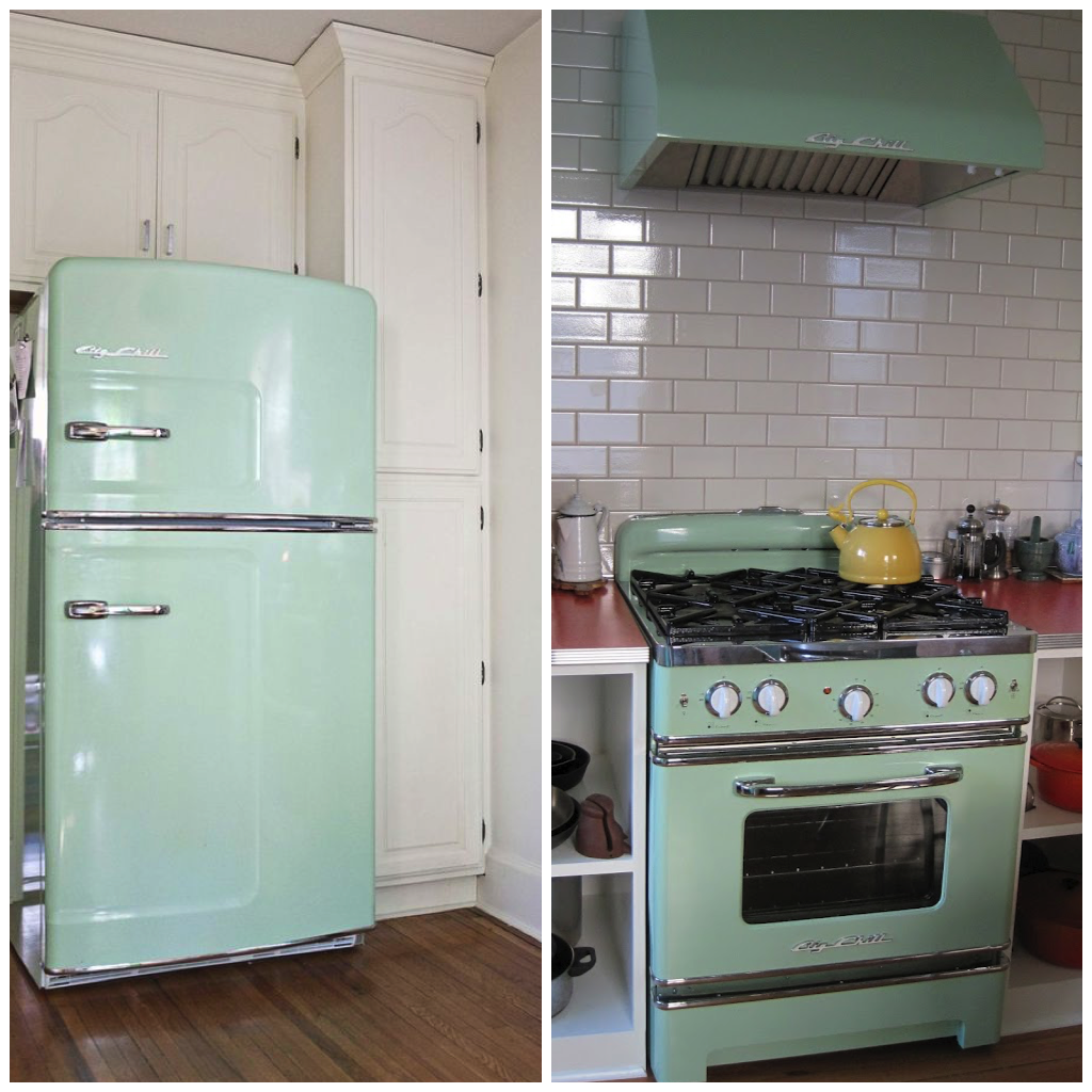 Mint Green Kitchen Appliances: Appliances In 6 Classic Spring Shades