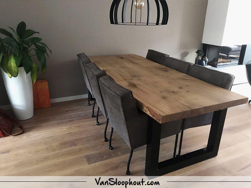 B O O M S T A M - Gezellige grove tafel voor in je woonkamer! Deze ...