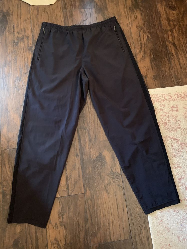 Mens Large Nike Dri Fit Pants Black Euc fashion clothing