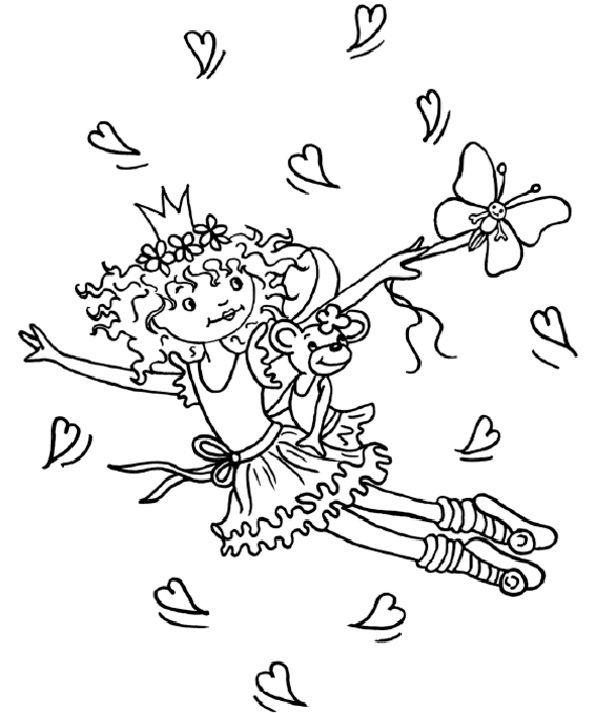 Ausmalbilder Prinzessin Lillifee Kostenlos Coloring 7
