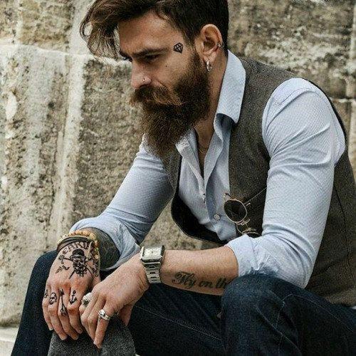 Hombres Tatuados Con Estilo