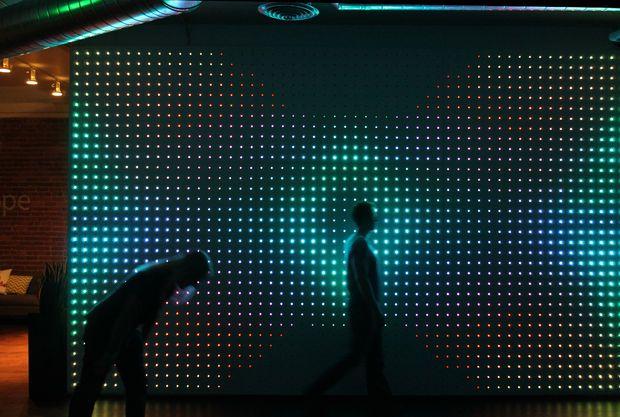 Make An Interactive Ipad Controlled Led Wall Interactive Walls