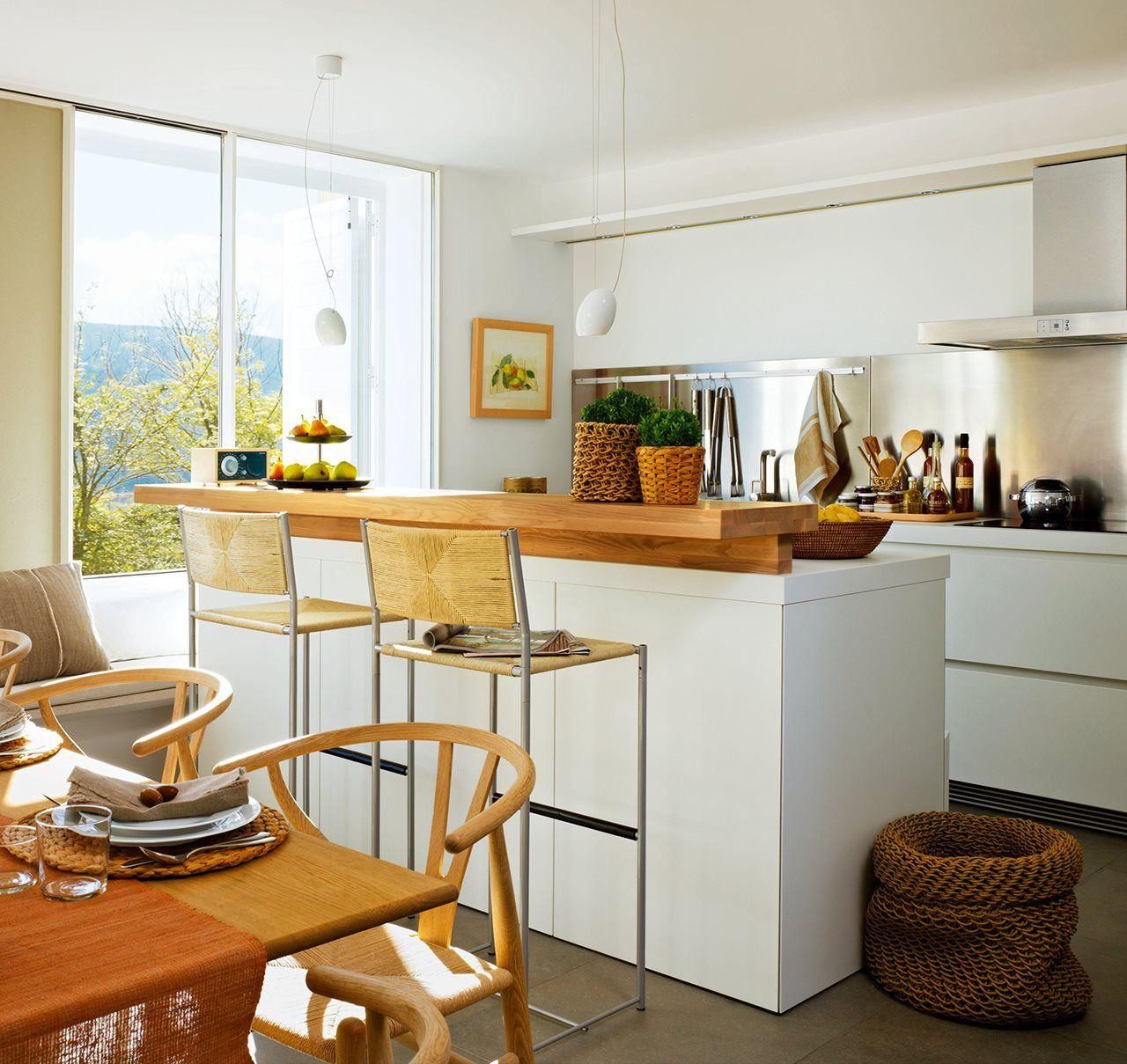Los 9 mejores diseños de cocinas office | Pocos Metros ...