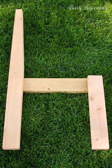 Easy DIY Outdoor Chairs – Stacy Risenmay
