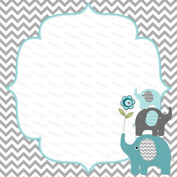 graphic relating to Free Printable Elephant Baby Shower Invitations named Acquire Totally free Printable Little ones Birthday Get together Invites Templates