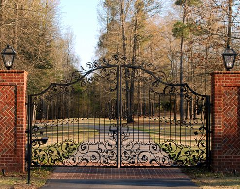 Similar To Our Old Gate At The Big House That Got Plowed