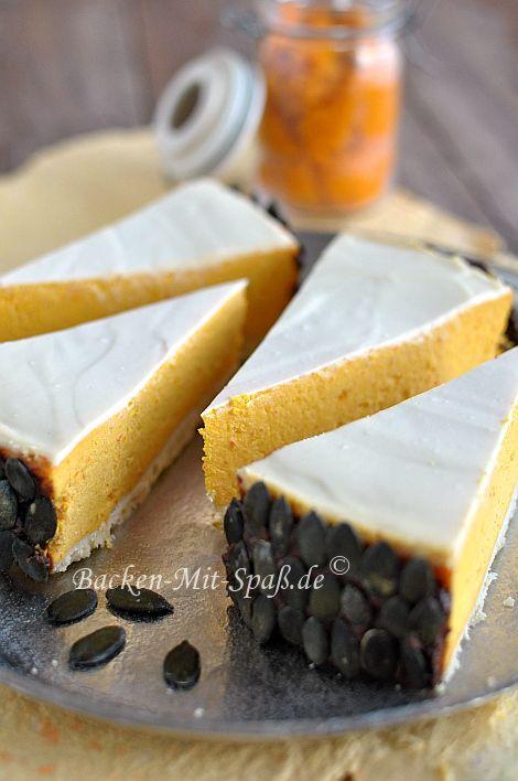 Kurbis Kasekuchen Kuchen