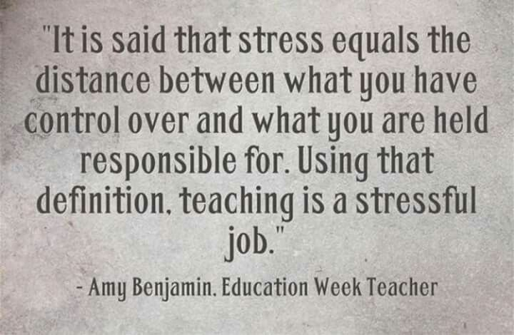 Stress Of Teaching Self Compassion Bad Day Quotes Stressful Job