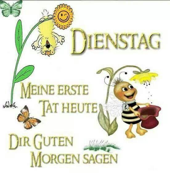 Pin von Daniela Vogt auf Wochentagsgrüße   Guten morgen ...