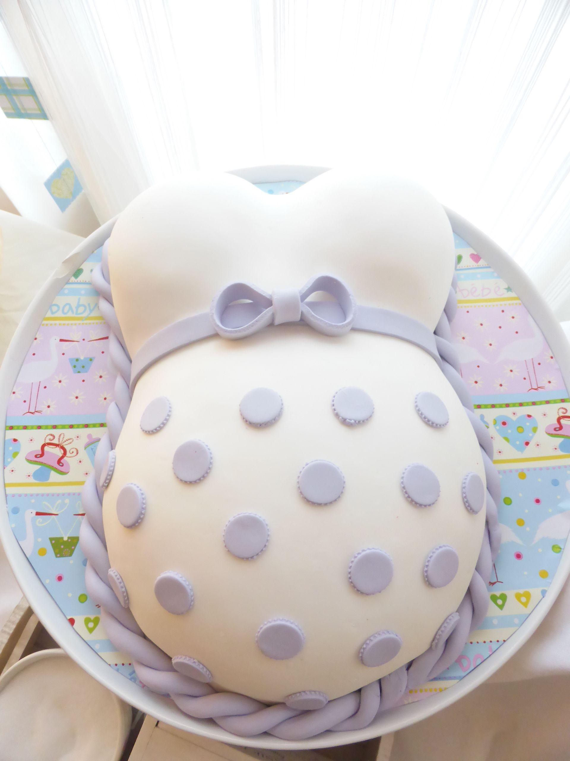 Wie backe ich eine babybauch torte