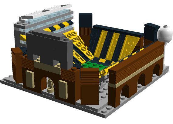 Mini IOWA Kinnick Stadium LEGO Custom Built by CustomBlockStadiums ...