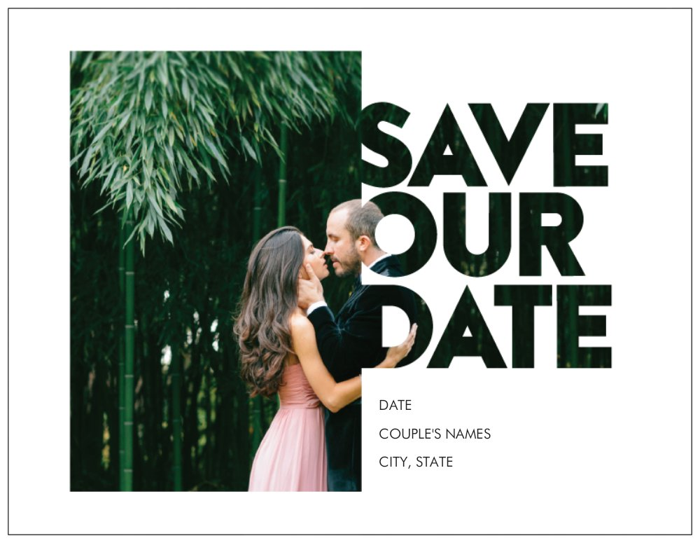Save the Date for Your Wedding Vistaprint Save