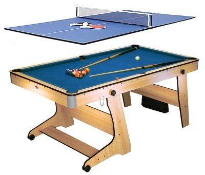 Fp6tt Folding Pool Table Tennis Table Folding Pool Table Pool Table Table Tennis Pool table ping pong table combo