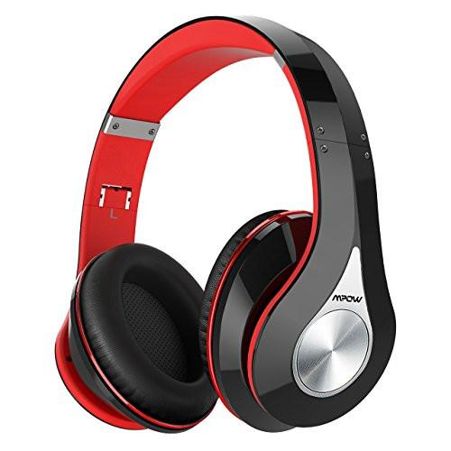 256b306db5c Mpow Bluetooth Headphones Over Ear, Hi-Fi Stereo Wireless Headset,  Foldable, Soft Memory-Protein Earmuffs, w/ Built-in Mic and Wired Mode for  PC/ Cell ...
