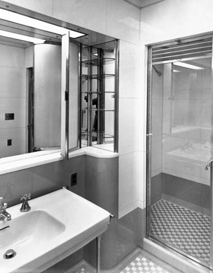 Bathroom Off Of The White House Residence Living Room Architectural Digest House Room