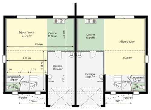 construction double maison - Recherche Google Maison Pinterest