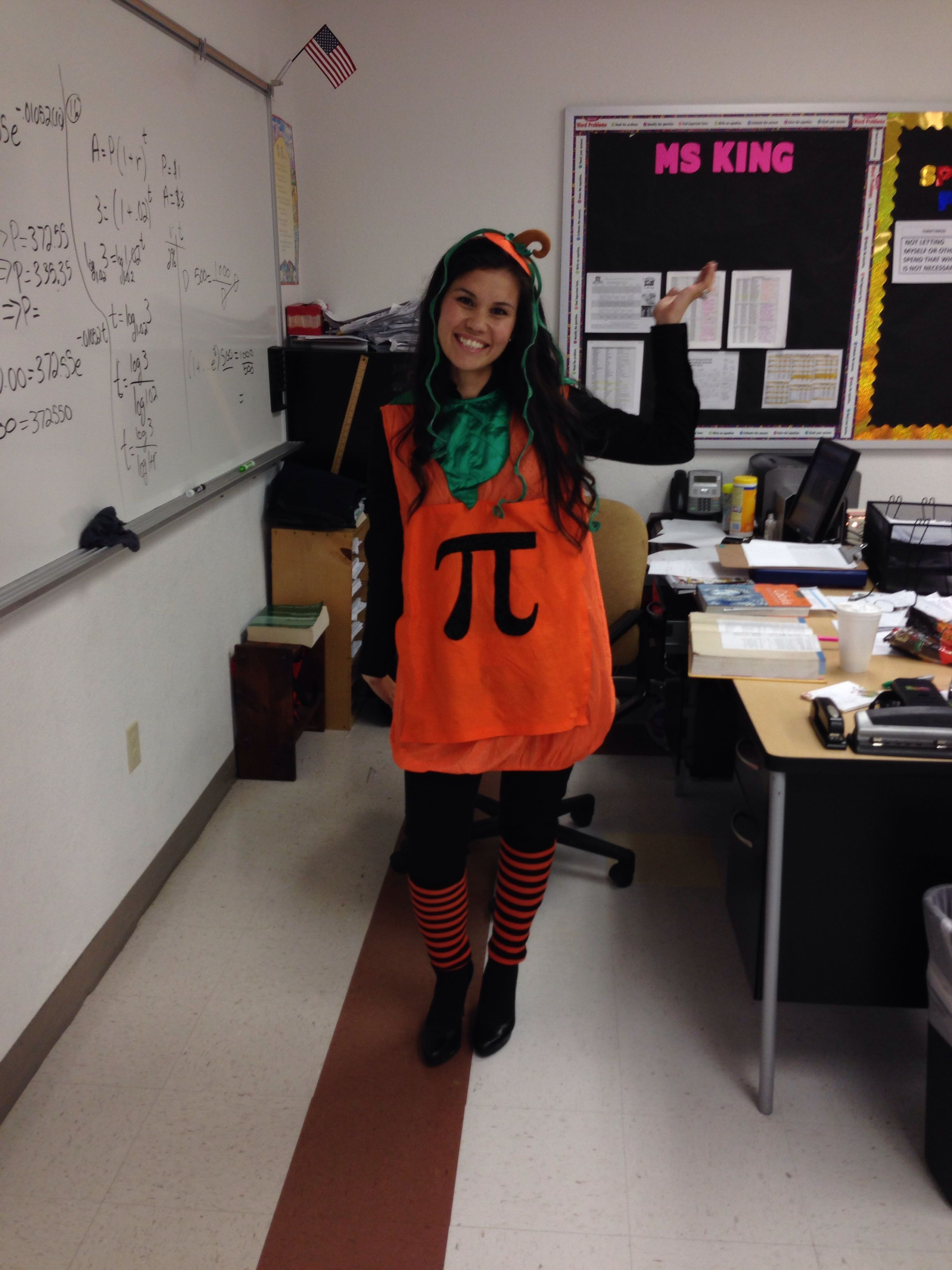 Halloween Costume For Math Teachers