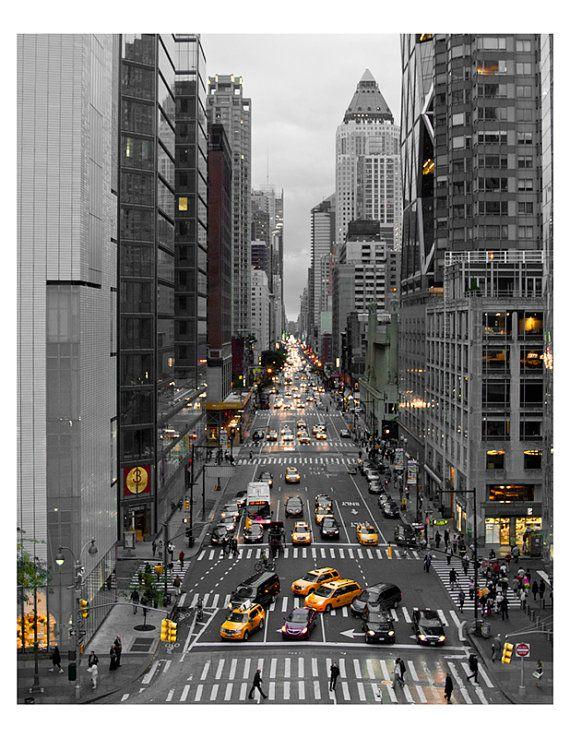 New York City Photograph, NYC skyline, wall art decor, city prints ...