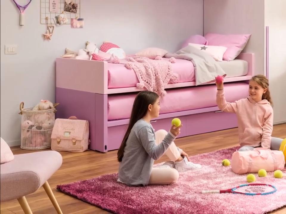 Space 4 bed, Bed Space in 2020 Kids bedroom diy, Kids