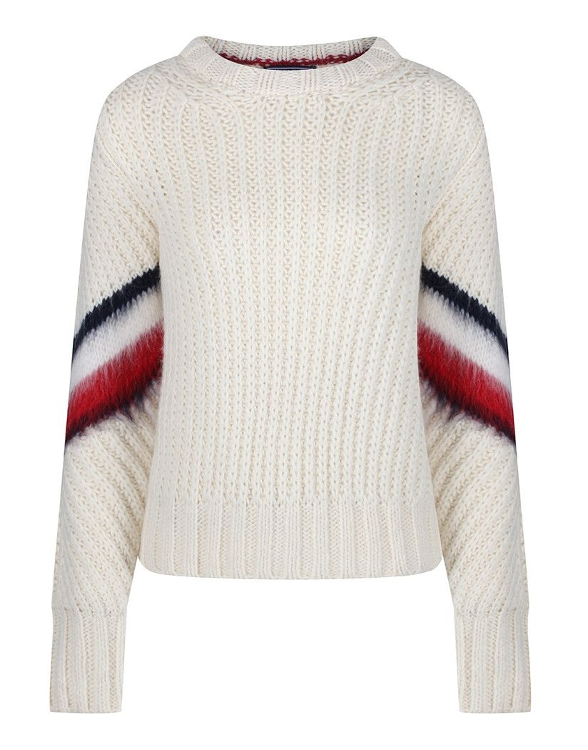49118368 Update your wardrobe with the Amalie Cropped Wool sweater by Tommy Hilfiger,  a true classic