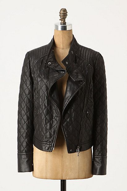 a188a5feb Savoy Quilted Leather Jacket #anthropologie | For the love of Fa•Shi ...