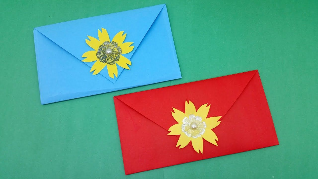 Photo of Very Easy & Simple Envelope Making With Color Paper | Origami Envelope | DIY Homemade Envelope