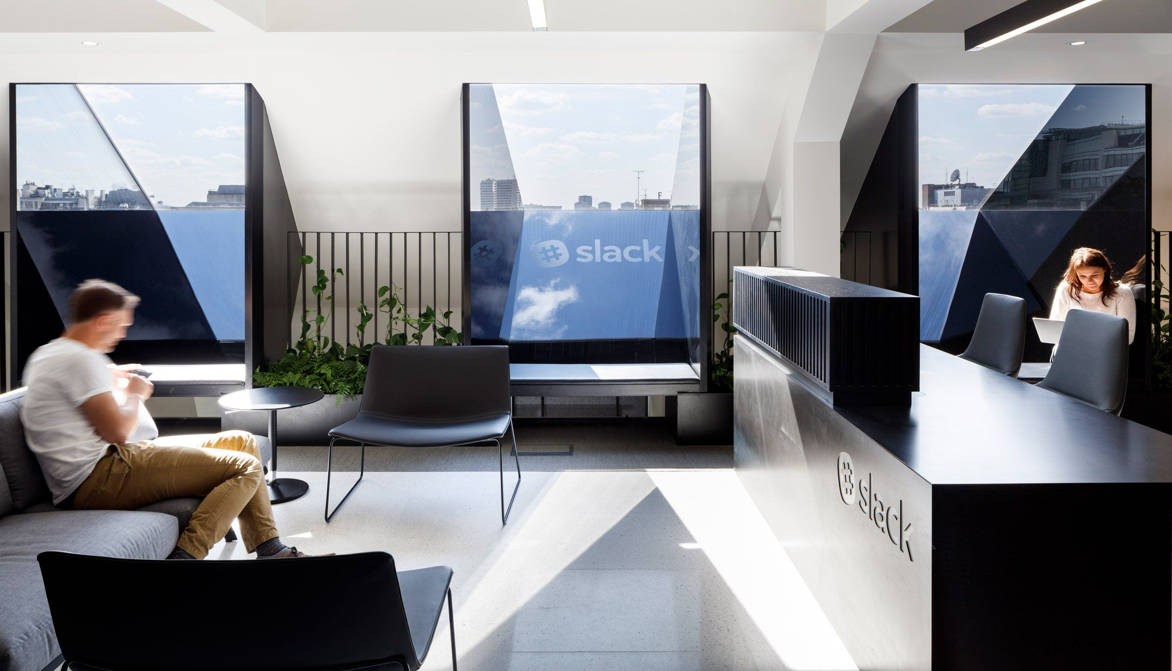 architects office interiors. A Row Of Skylights Offering Extensive Views London\u0027s Skyline Influenced ODOS Architects\u0027 Design For · Office InteriorsInterior Architects Interiors