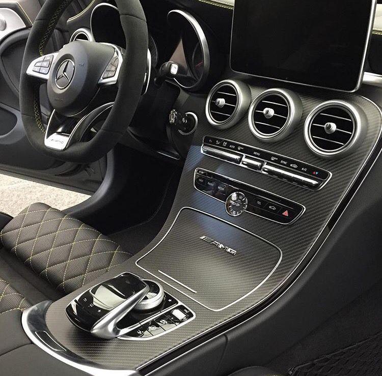 A Great Matte Carbon Fibre Interior Design For This C63 S Coupe