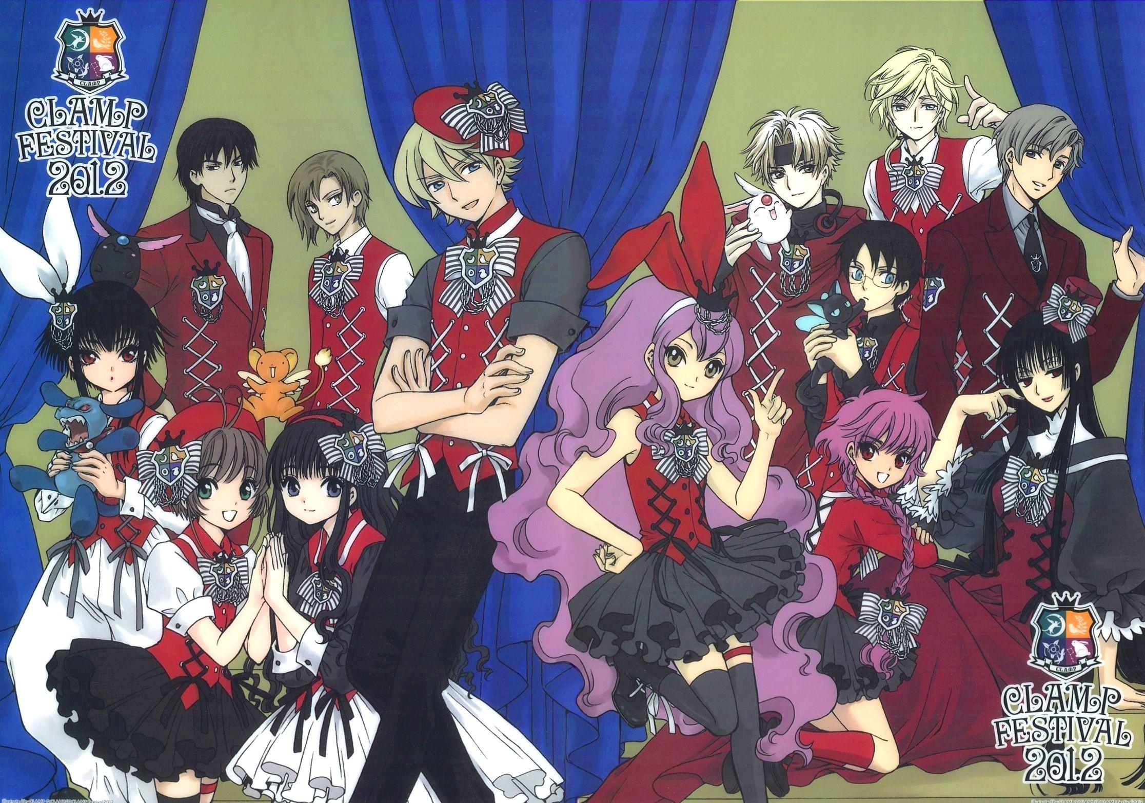 Download Crossovers (2232x1565) Minitokyo Anime
