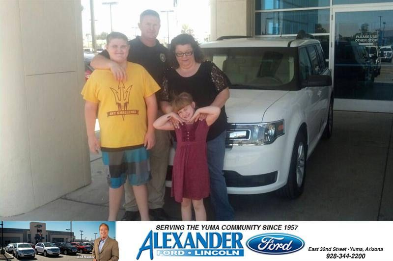 Congratulations To William Weatherby On Your Ford Flex Purchase From Mark Johnson At Bill Alexander Ford Lincoln Newcar Ford Mark Johnson New Cars