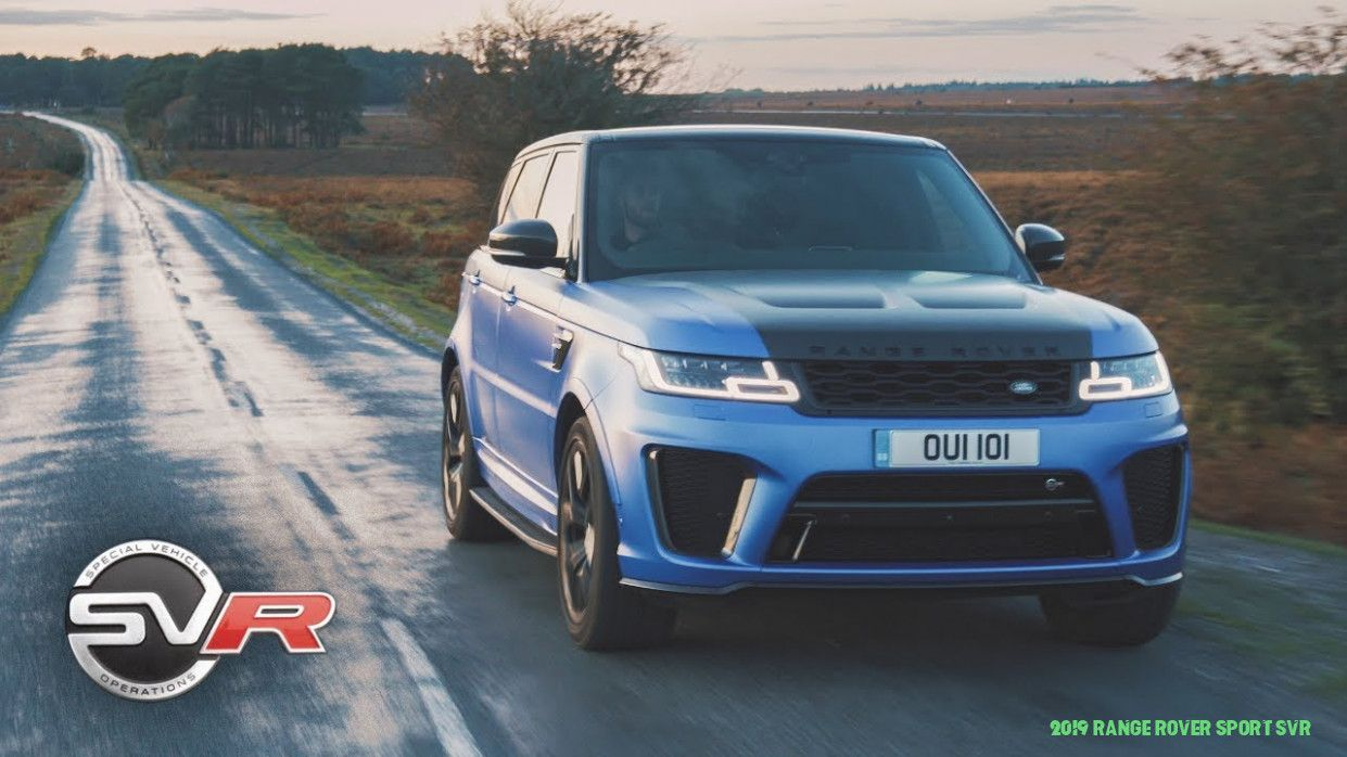 Five Things About 9 Range Rover Sport Svr You Have To