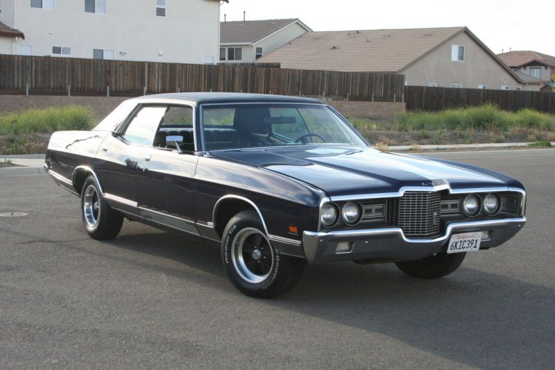 1971 Ford Ltd Base Hardtop 4 Door 5 8l My Parents Bought One When
