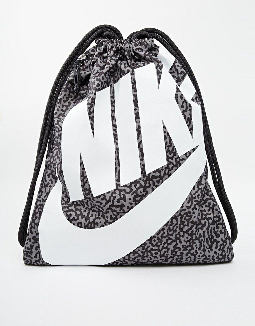 Nike Heritage Gym Bag with Print Nike Gym Bag d2023c2c059e7