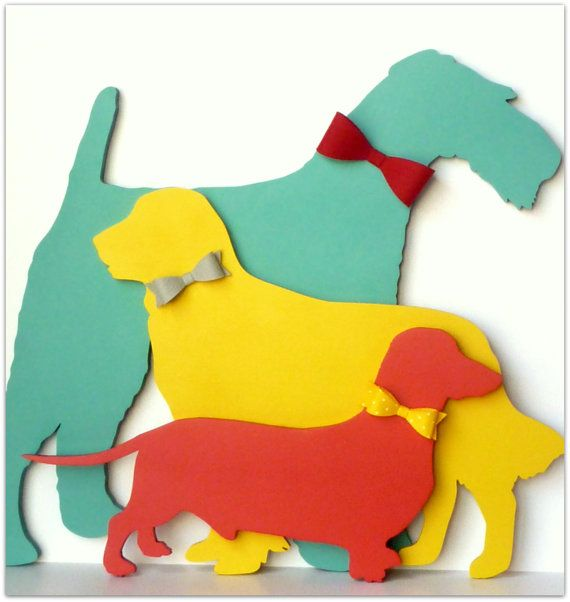 Airedale Terrier Wall Decor Dog Wall Art by PinwheelFair on Etsy ...