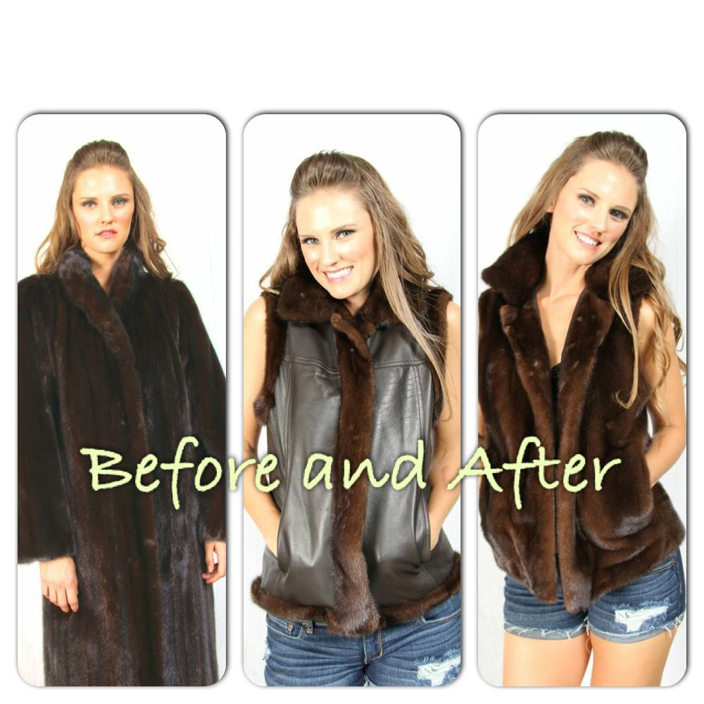 Restyle your old Fur coat for a fresh new look!