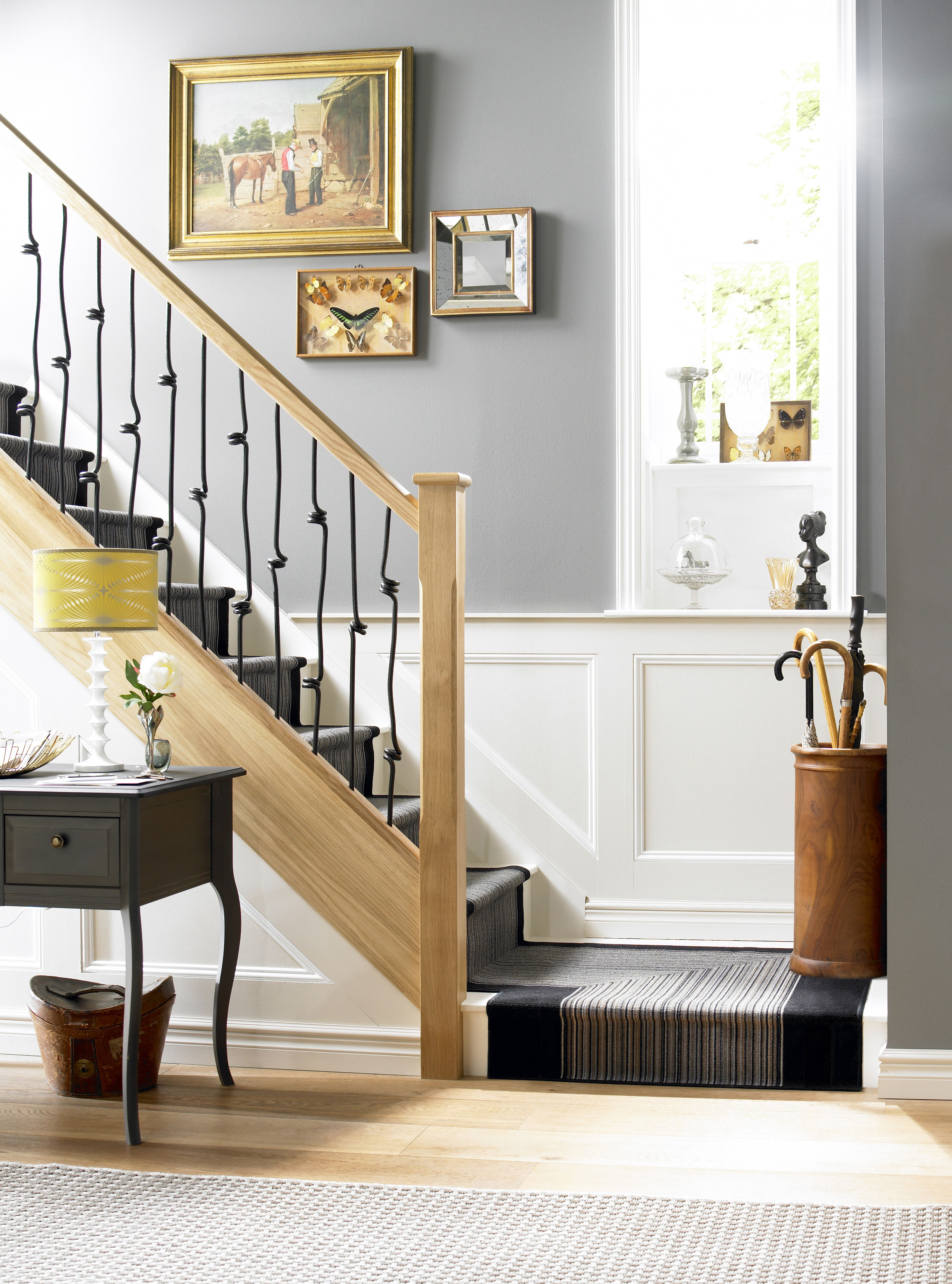 Best Richard Burbidge Elements Metal Spindles Hallway Designs 400 x 300
