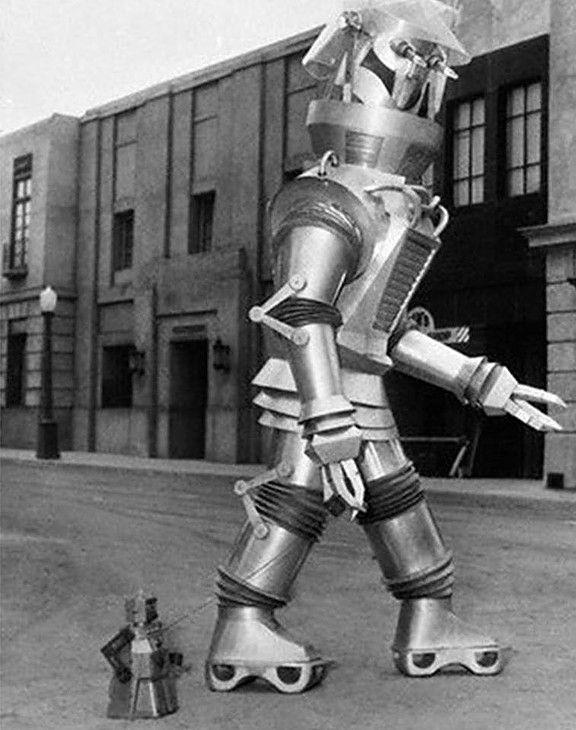 Robert The Robot Tobor Retro Robot Cool Robots Vintage Robots